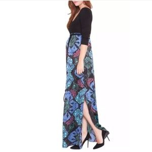 New OLIAN Samantha Maternity Maxi Dress Medium